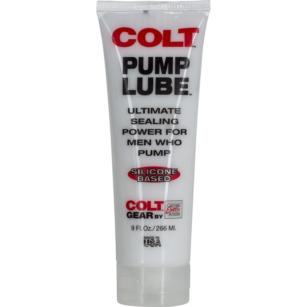 COLT by CalExotics Pump Silicone Based Lube 9 Fl.Oz 266 mL - View #2