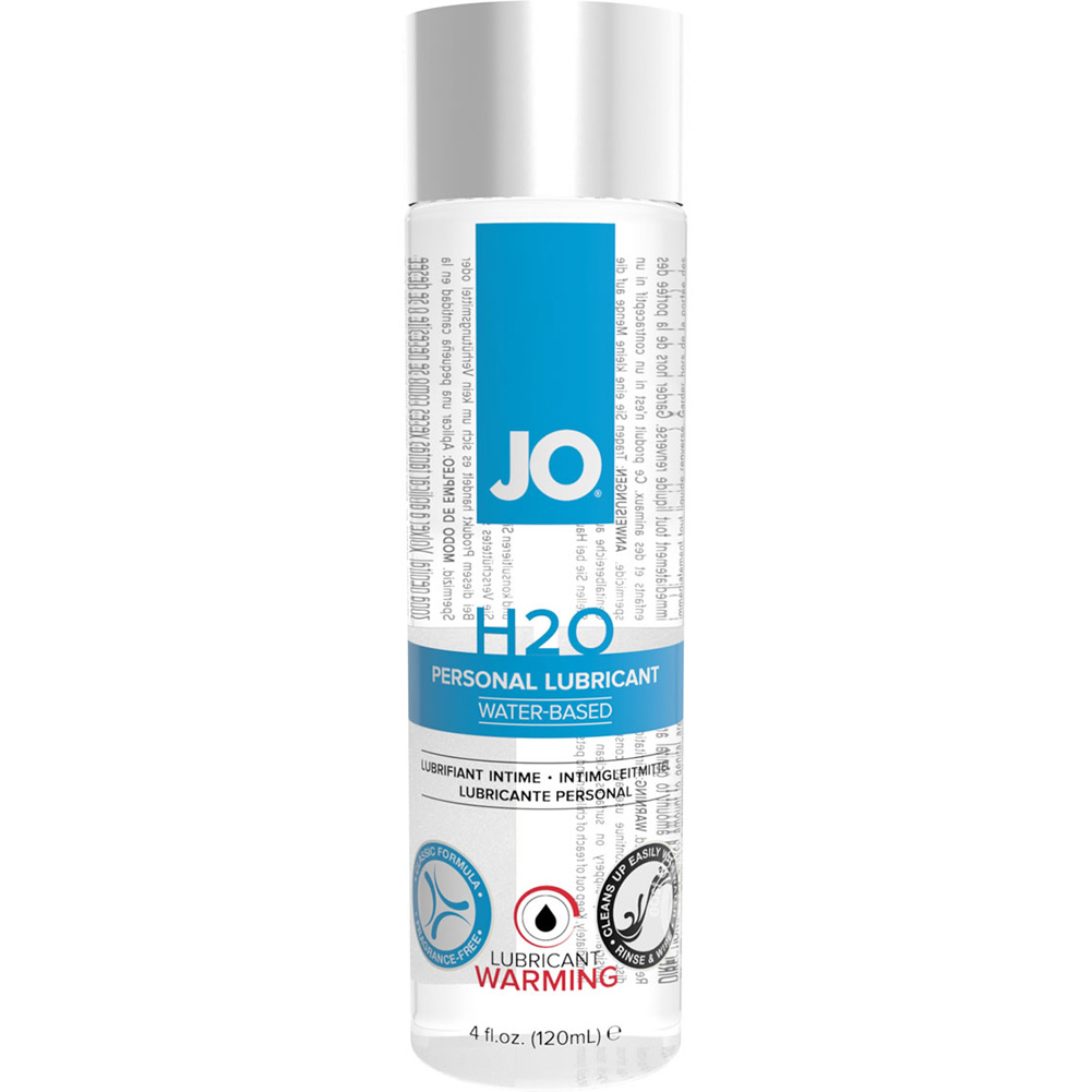 JO H2O Warming Water Based Personal Lubricant 4 Fl.Oz 120 mL - View #1