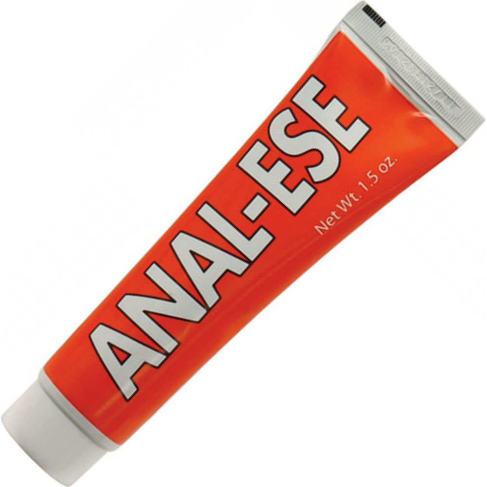 Anal-Ese Flavored Desensitizing Lubricant 1.5 Ounce 44 G Cherry - View #2