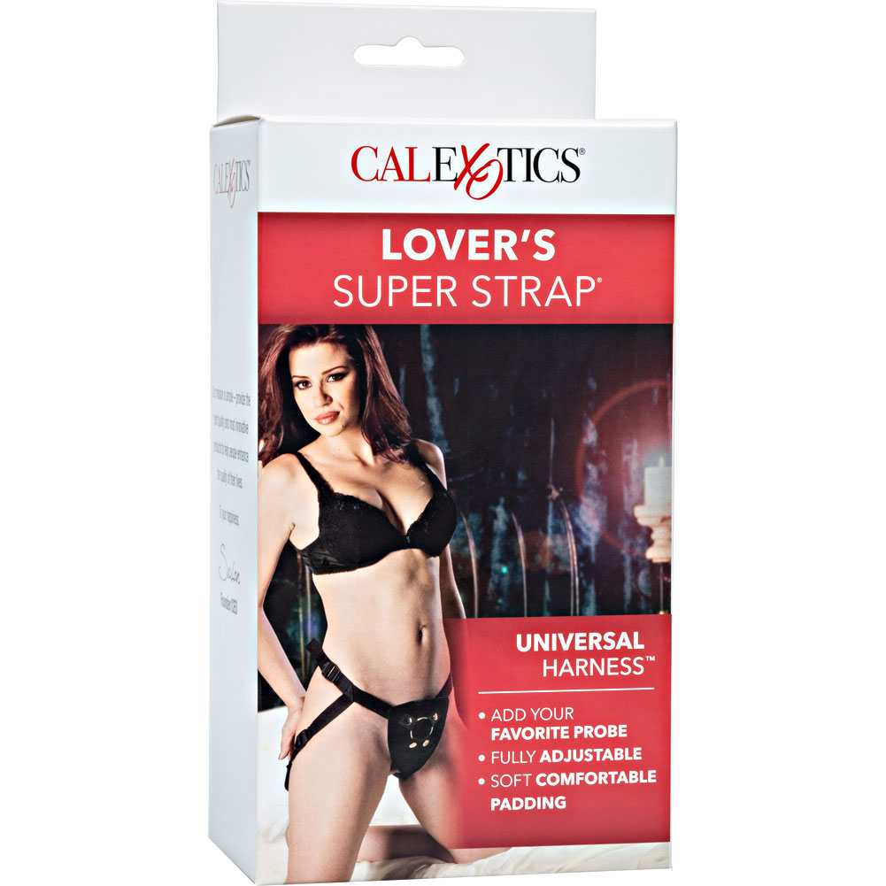 Lovers Super Strap Universal O Ring Harness One Size Black - View #4