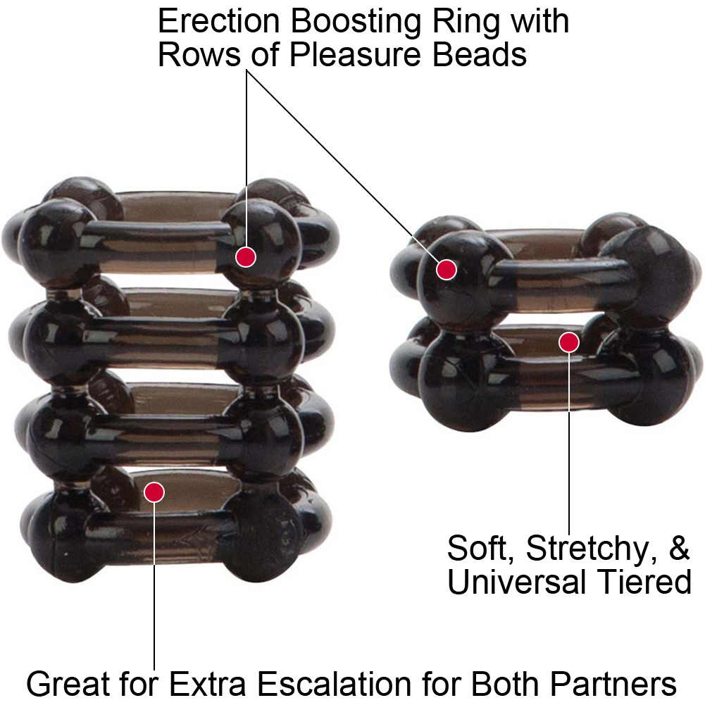 COLT by CalExotics Enhancer Rings Pack of 2 Cock Rings Smoke - View #1