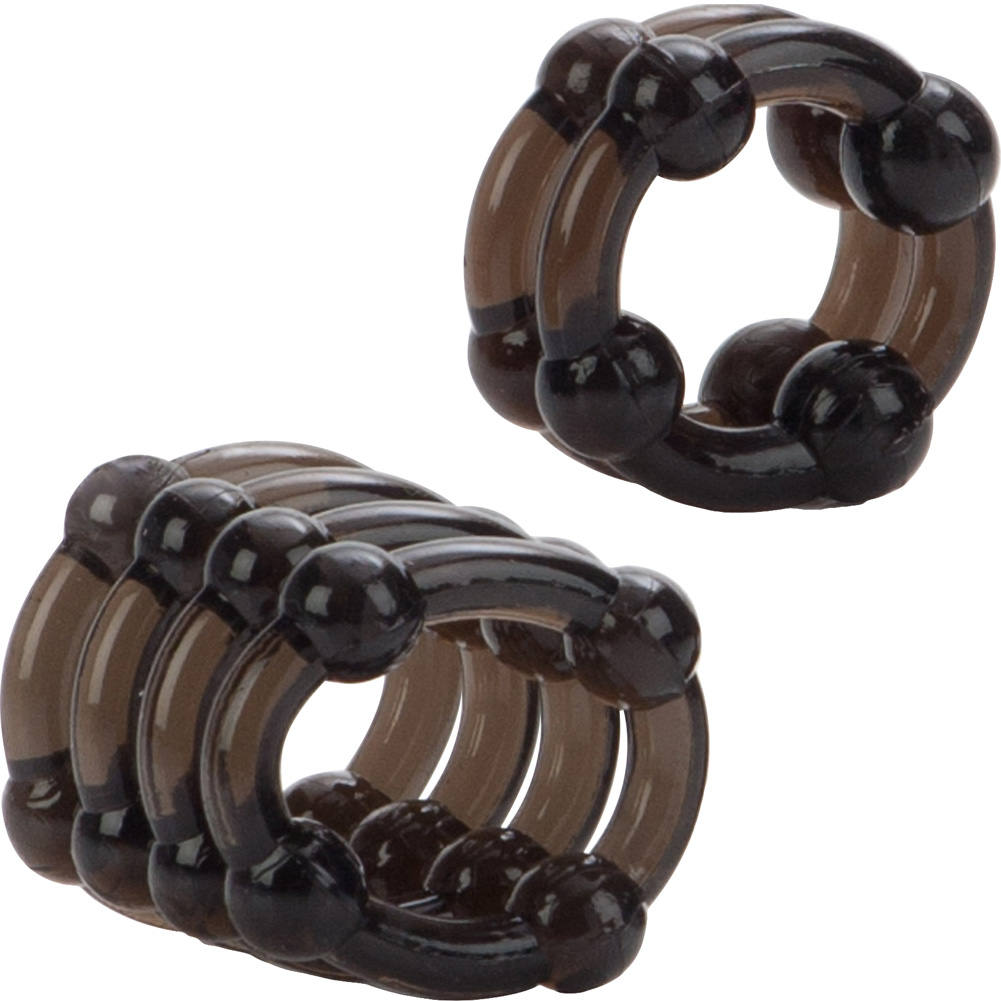 COLT by CalExotics Enhancer Rings Pack of 2 Cock Rings Smoke - View #3