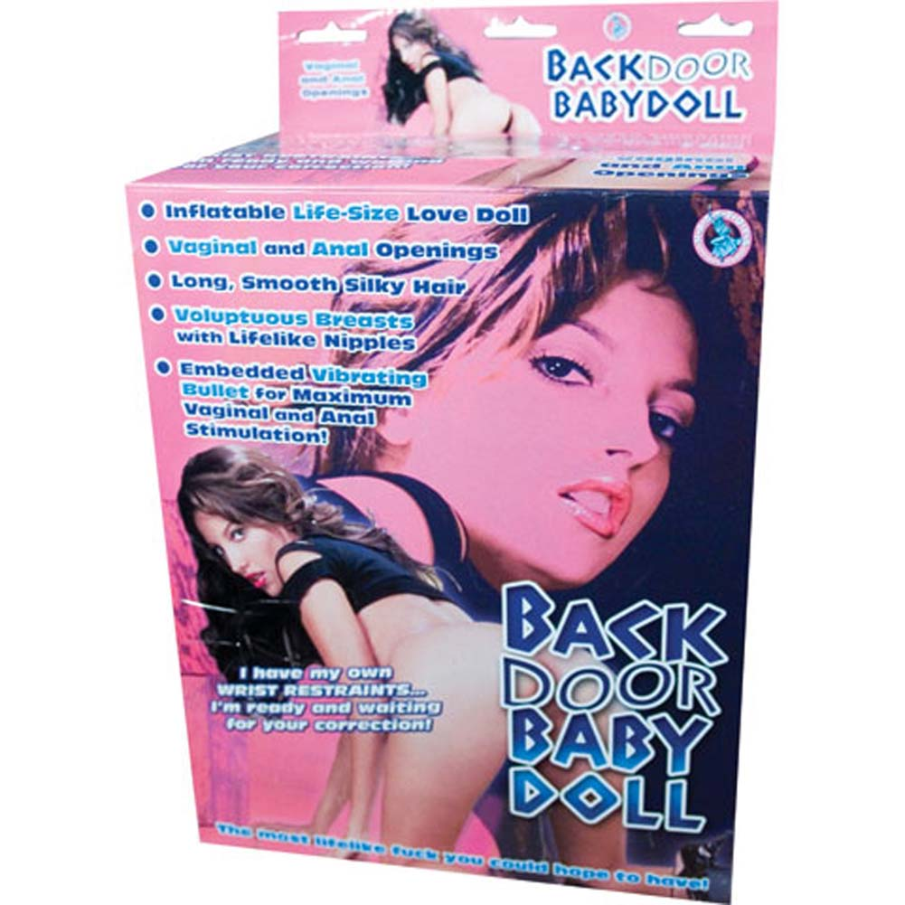 Back Door Baby Doll Inflatable Vibrating Love Doll - View #1