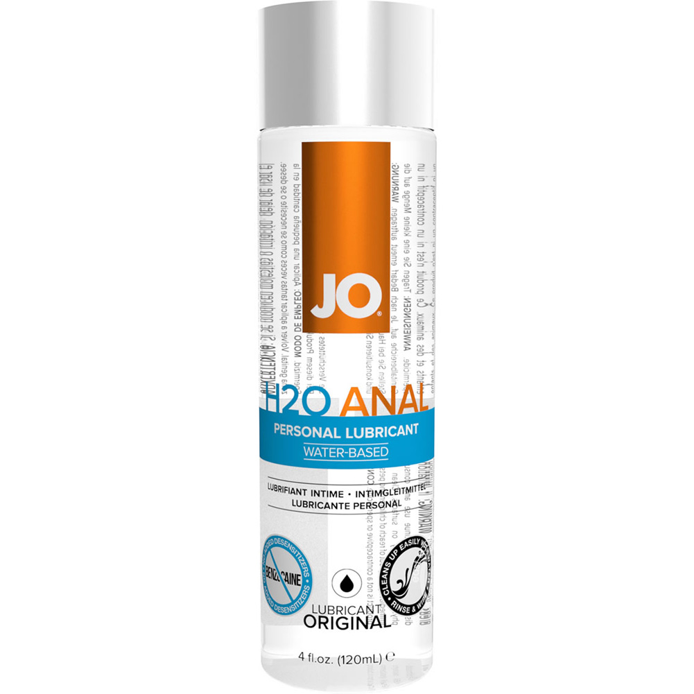JO Anal H2O Original Water Based Personal Lubricant 4 Fl.Oz 120 mL - View #2