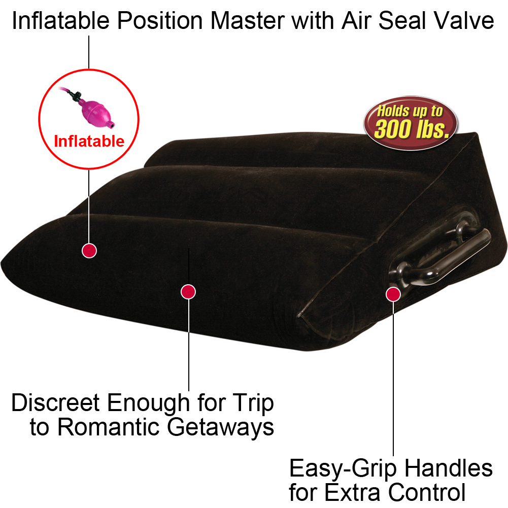 Fetish Fantasy Series Inflatable Position Master Black - View #1