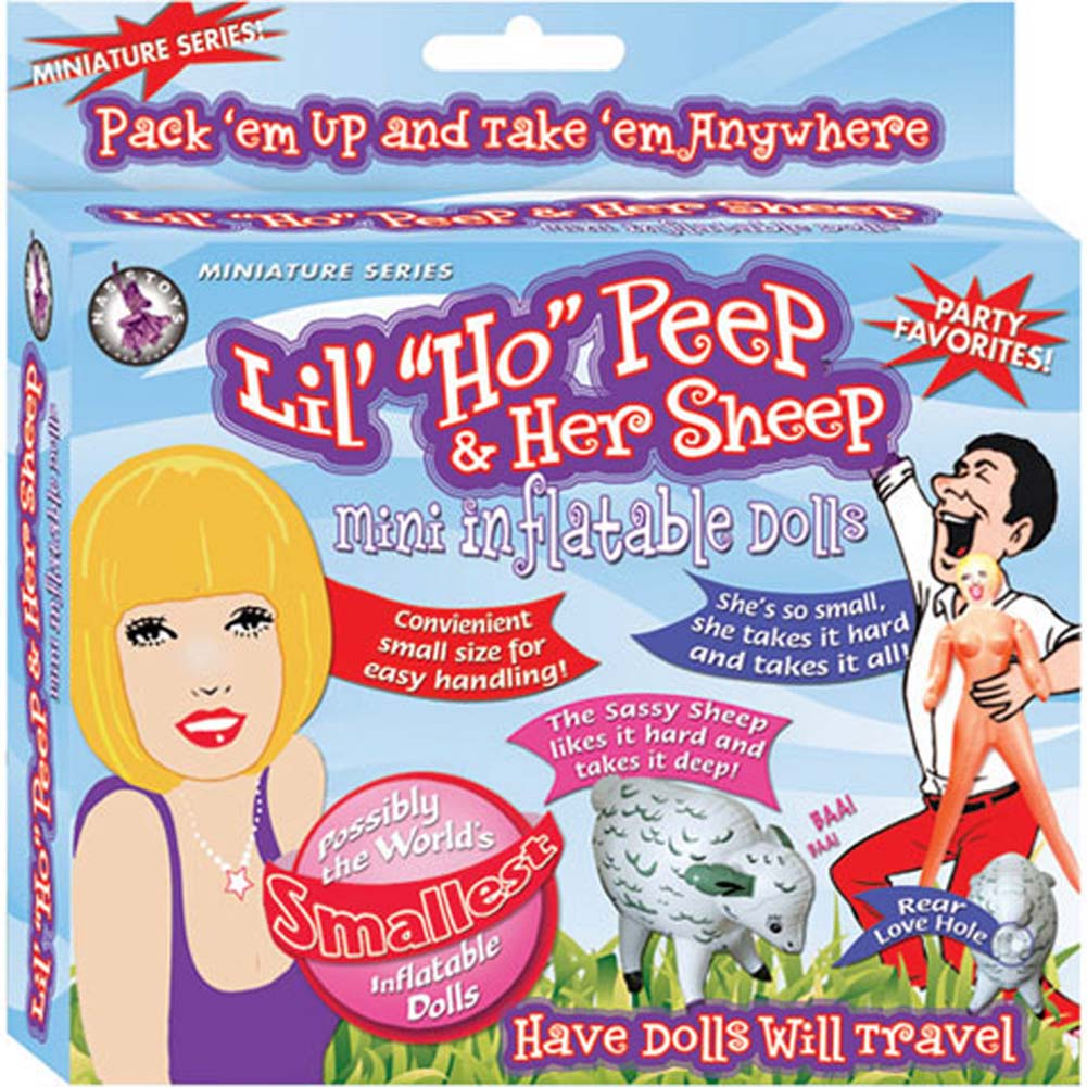 Lil Ho Peep and Her Sheep Mini Inflatable Doll - View #1