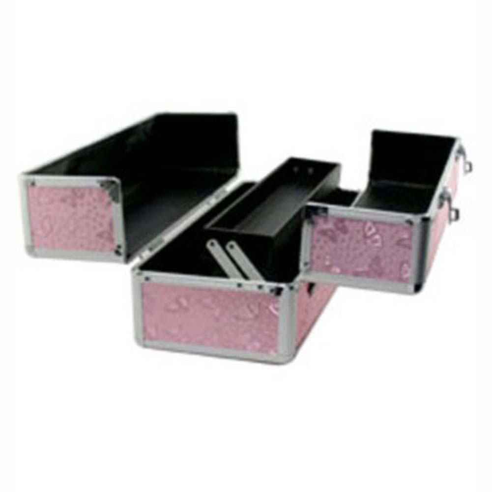 """Lockable Toy Chest Large 15"""" Pink - View #1"""