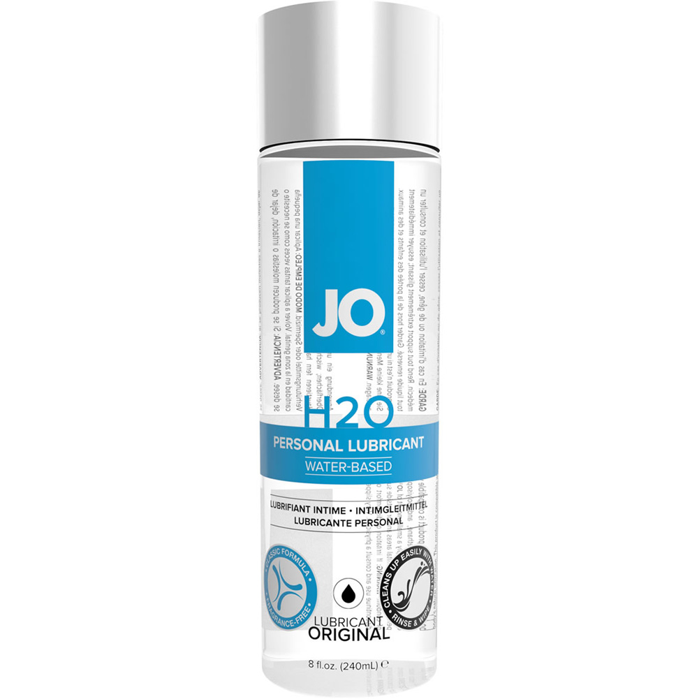 JO H2O Original Personal Water Based Lubricant 8 Fl.Oz 240 mL - View #2