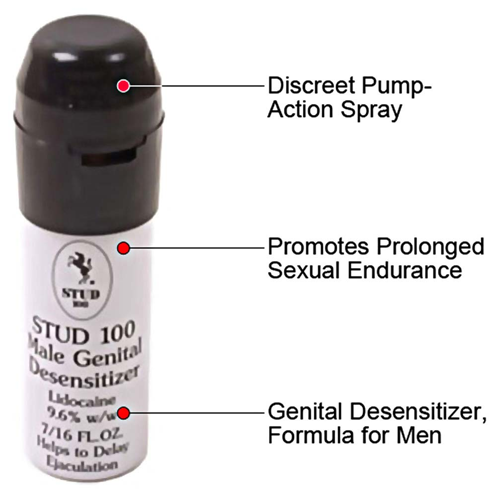 Pack of 2 Stud 100 Male Premature Delay Spray Prolong Penis Male Men - View #1