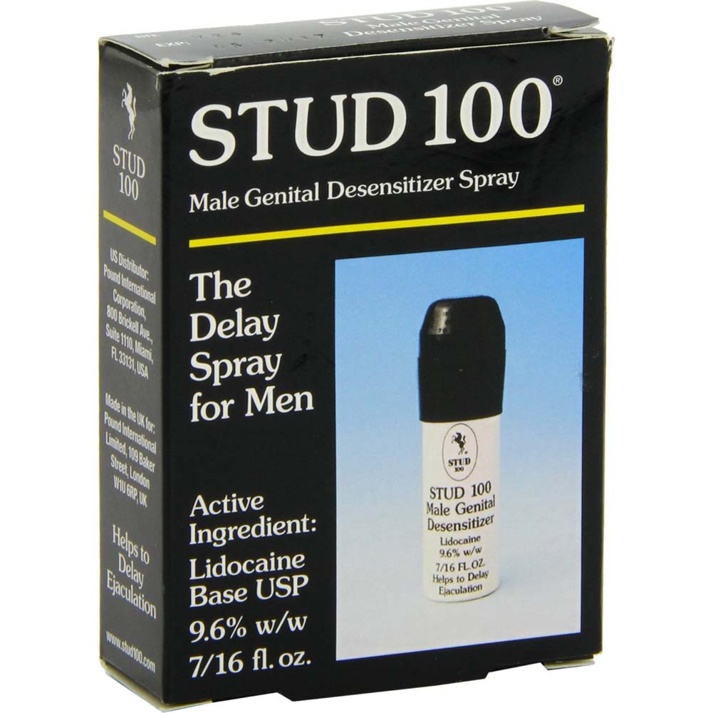 Pack of 2 Stud 100 Male Premature Delay Spray Prolong Penis Male Men - View #3