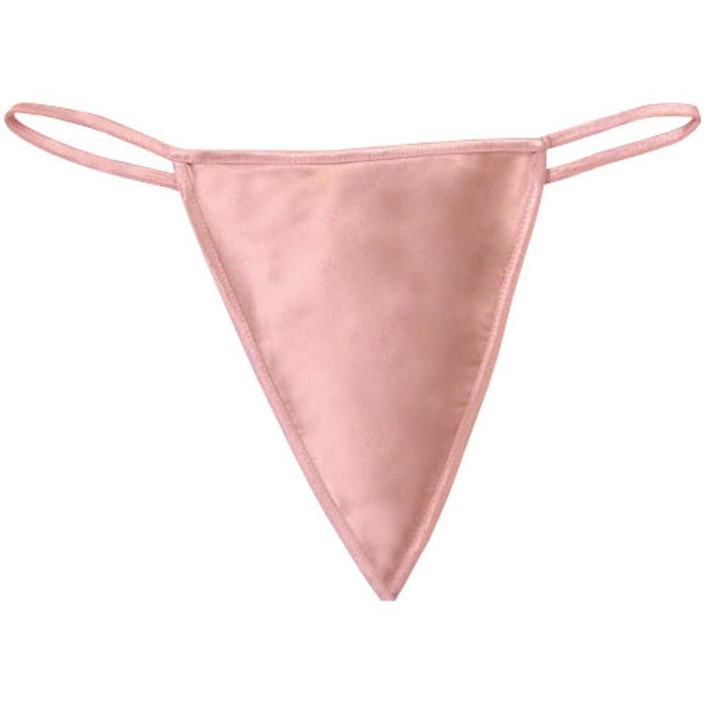 Dear Lady Collection G-String Panty One Size Light Pink - View #3