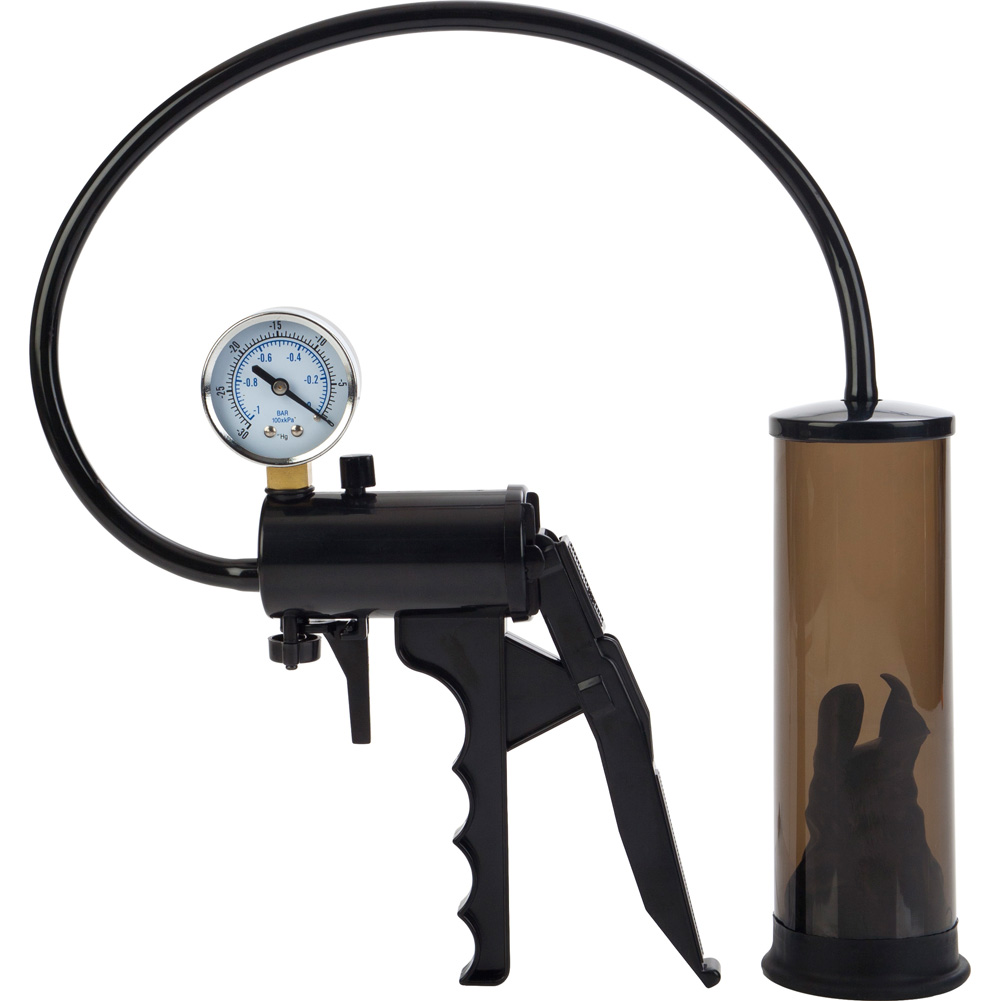 "Top Gauge Professional Pressurized Pump 7"" by 2"" Black - View #2"
