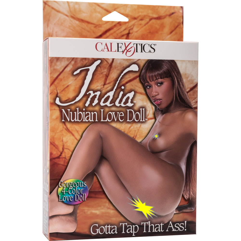 California Exotics India Nubian Love Doll AfroCentric 4 Color - View #1