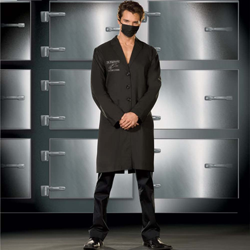 Doctor Rigamortis Costume for Men XX Large Black - View #1