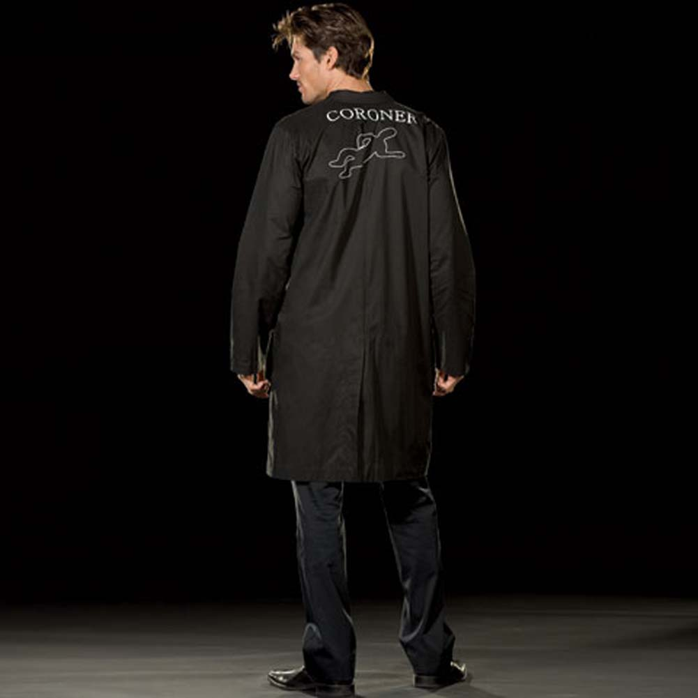 Doctor Rigamortis Costume for Men XX Large Black - View #2