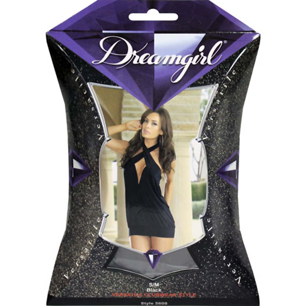 Double Trouble Versatile Dress and Thong Small/Medium Black - View #4