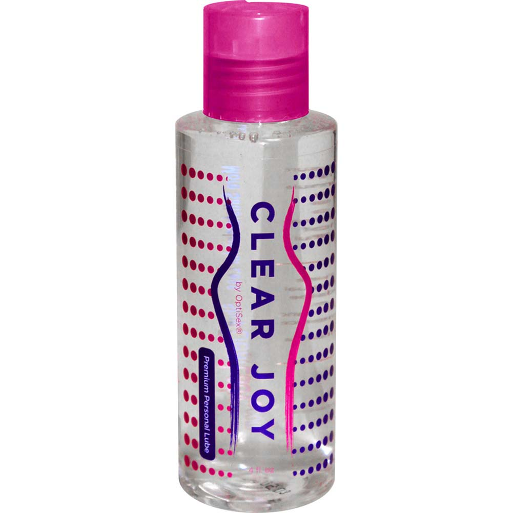 Clear Joy Premium Personal Lubricant for Men and Women 4 Fl.Oz 120 mL - View #2