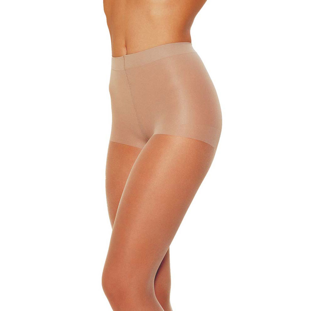 Low Rise Control Top Pantyhose One Size Nude - View #1
