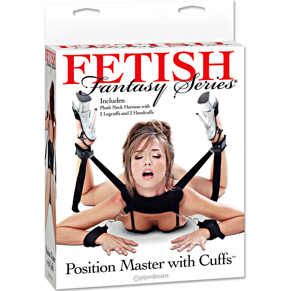 Fetish Fantasy Position Master with Cuffs and Love Mask - View #4