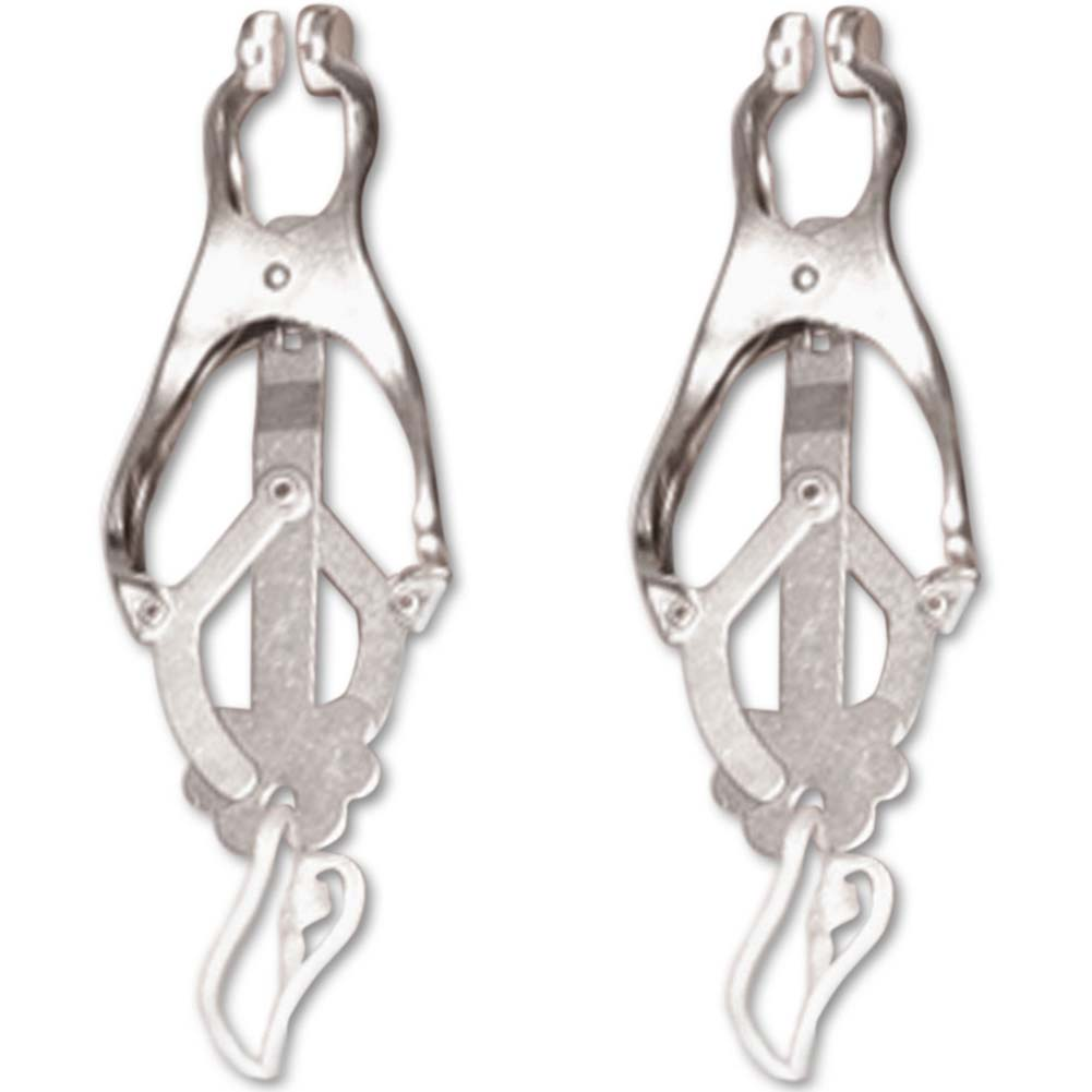 Fetish Fantasy Series Japanese Clover Clamps Silver - View #2