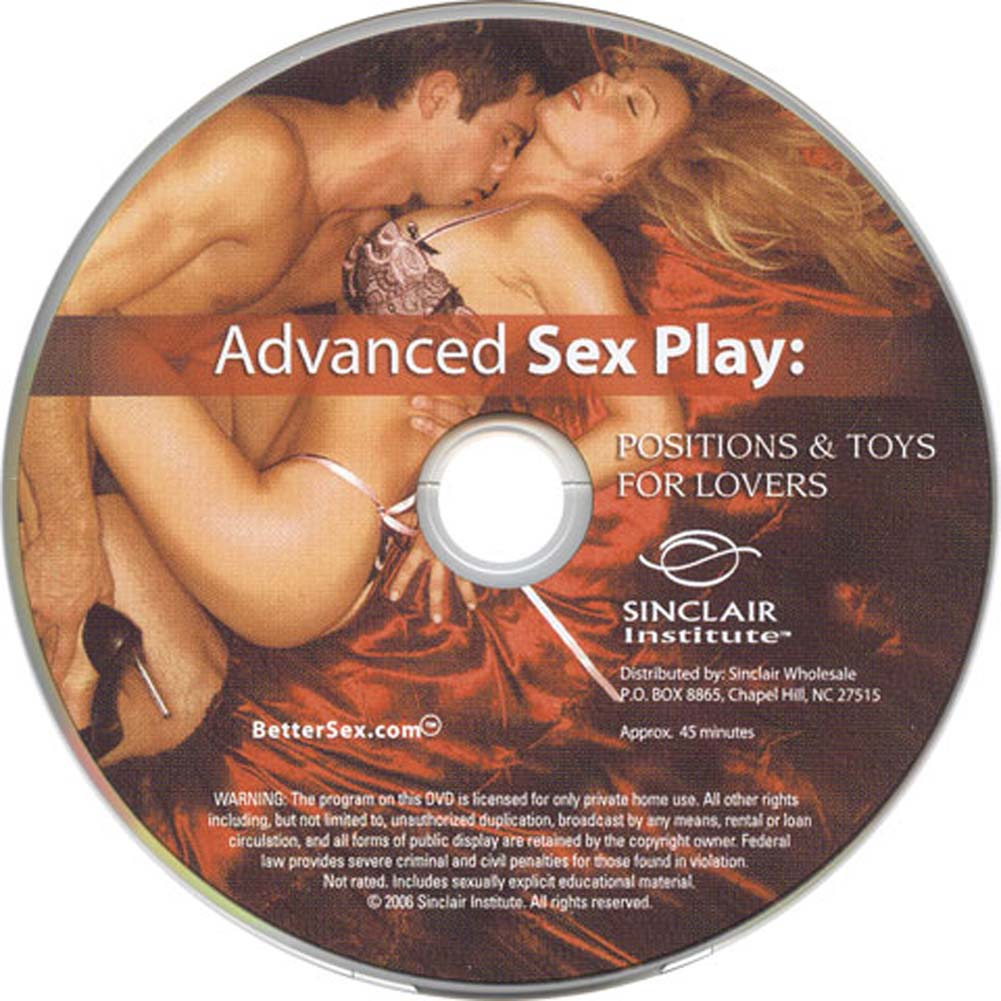 Advanced Sex Play Position and Toys for Lovers DVD - View #2