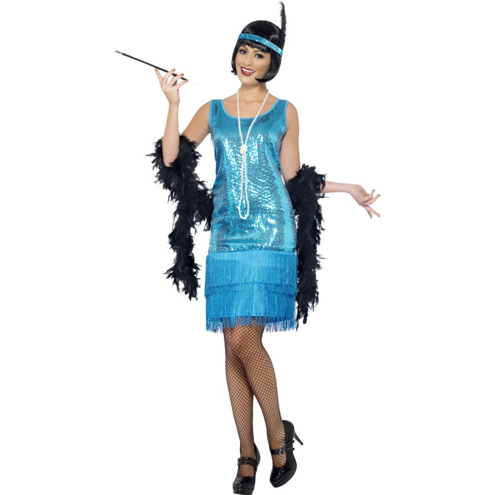 Flirty Flapper Costume Small - View #1