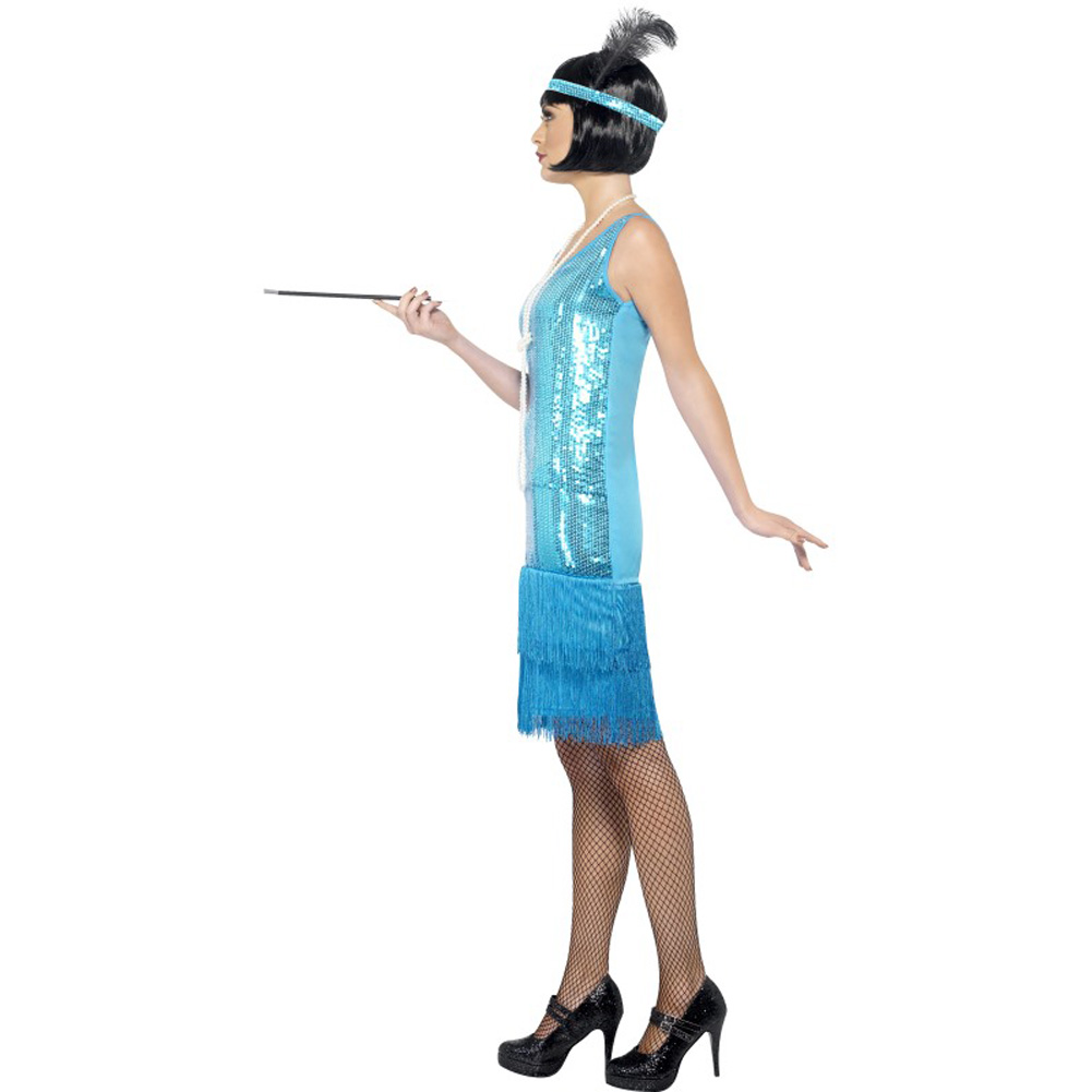 Flirty Flapper Costume Small - View #2