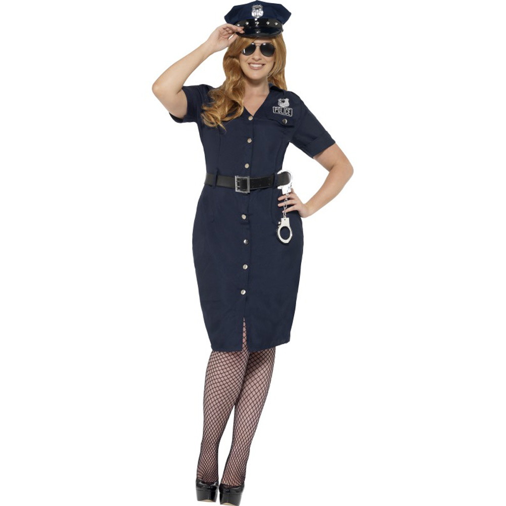 Curves NYC Cop Costume Plus Size 2X - View #1