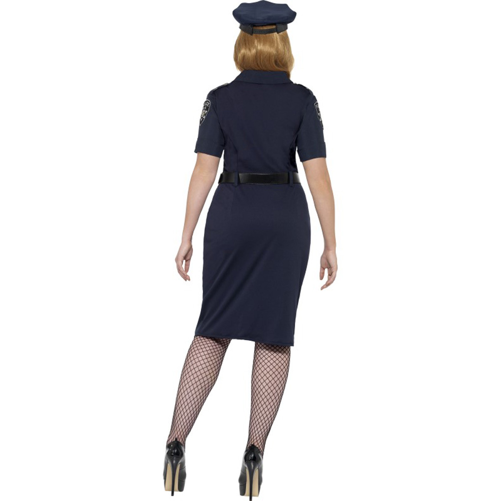 Curves NYC Cop Costume Plus Size 2X - View #2