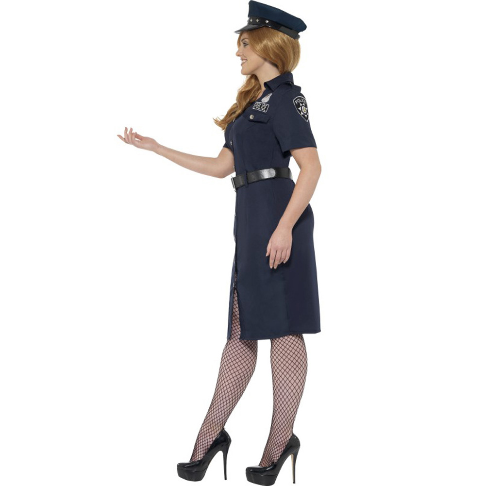 Curves NYC Cop Costume Plus Size 2X - View #3