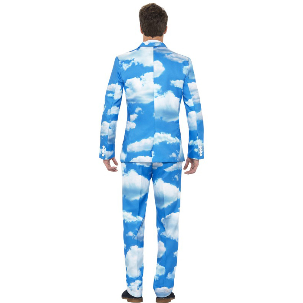 Smiffys Sky High Suit Medium Blue - View #3
