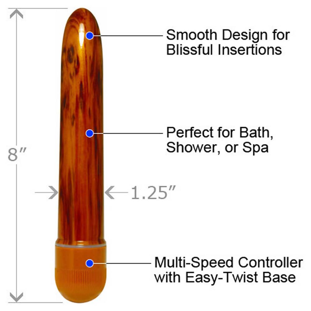 """Misty Delight Toffee Waterproof Vibe 8"""" Cool Chocolate - View #1"""