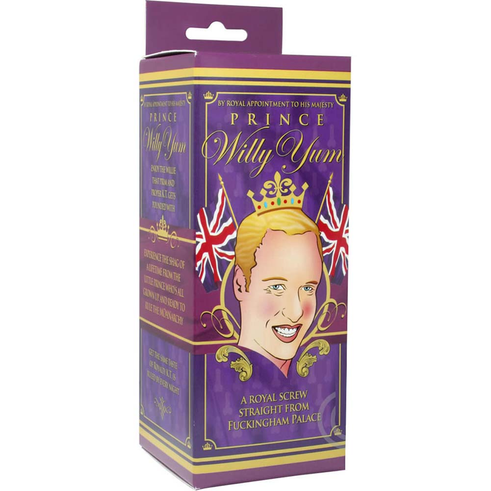 "Prince Willy Yum Dong and Crown Cockring Set 6"" Natural - View #3"