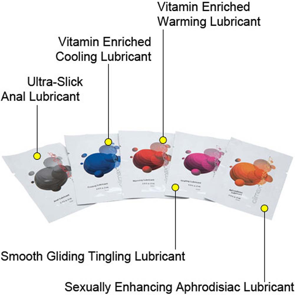 Climax Burst 2 Go Intimate Lubricant Variety 10 Pack - View #1