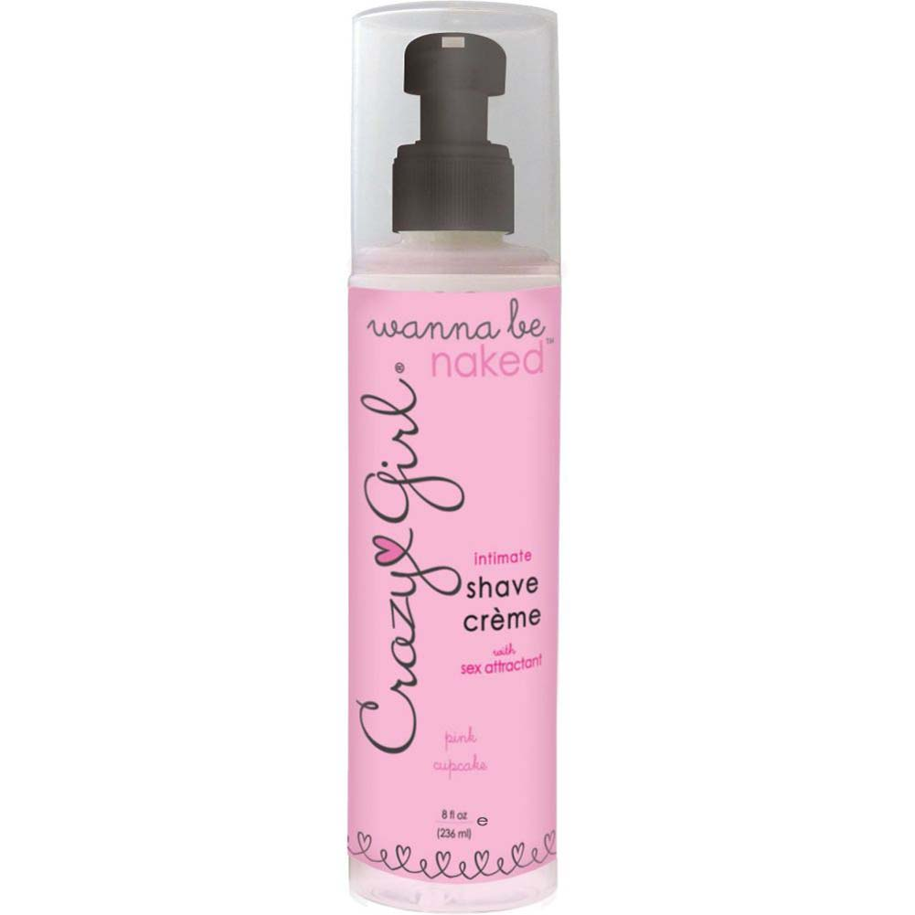 Crazy Girl Wanna Be Naked Intimate Shave Creme- Pink Cupcake - View #2
