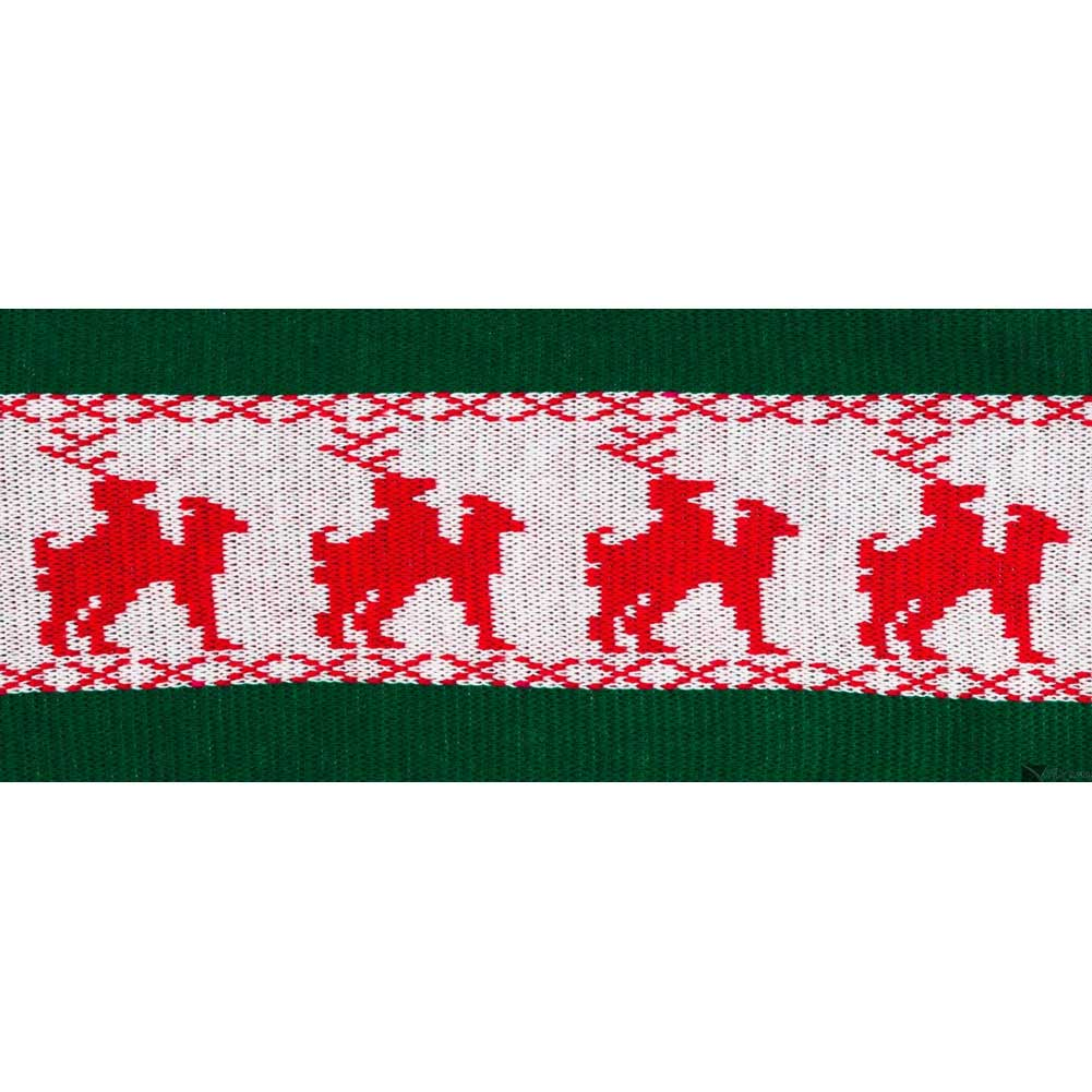 Forum Novelties Naughty Reindeer Games Scarf Novelty Accessory Winter Green/Red - View #1