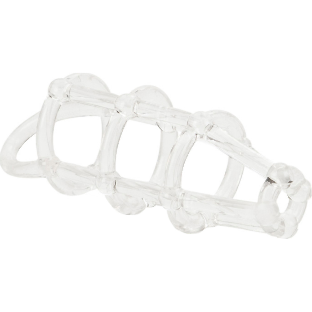 """Cock Cage Enhancer 4.5"""" Clear - View #4"""