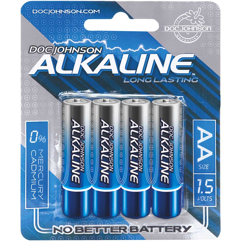 Doc Johnson Alkaline AA Batteries Pack of 4 - View #1