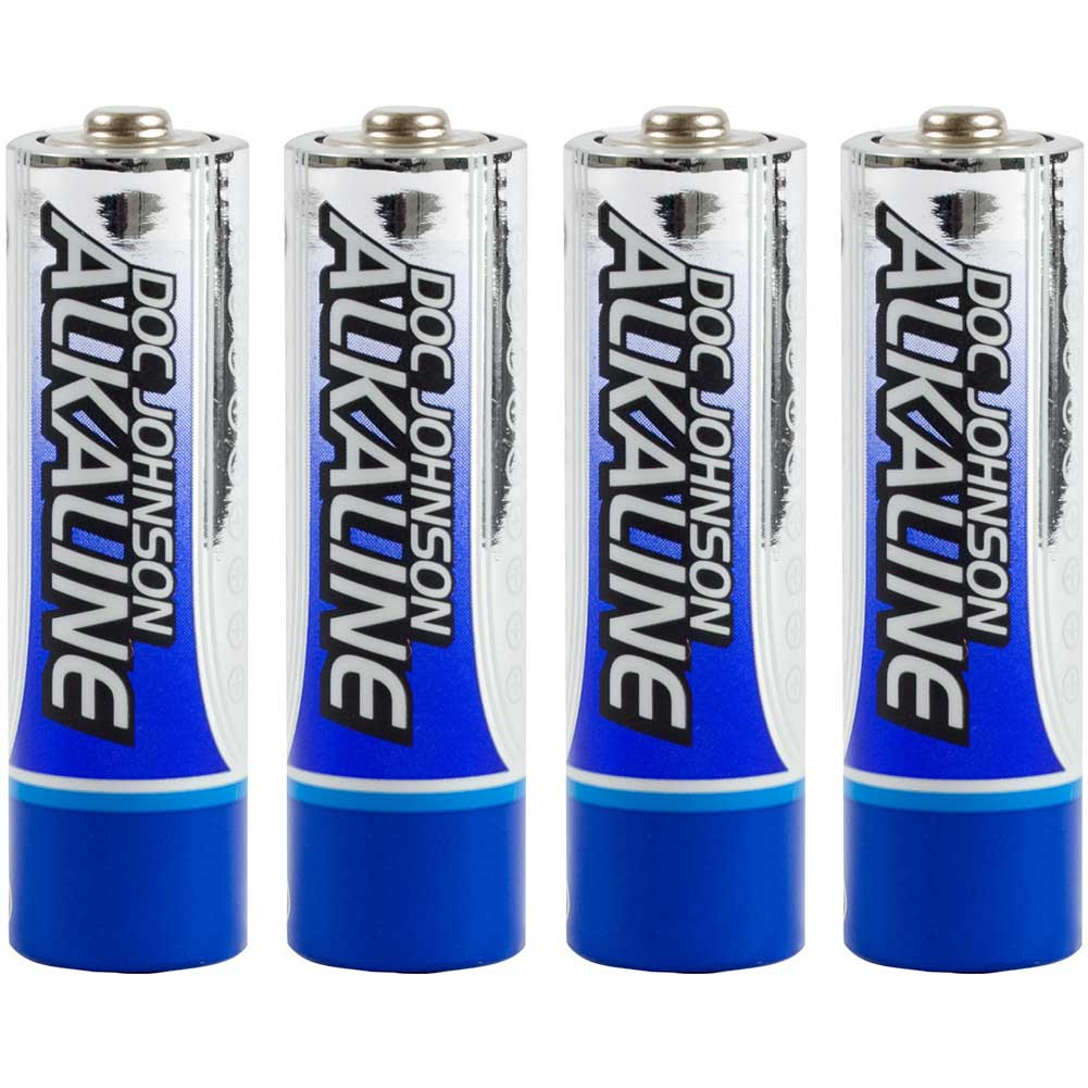 Doc Johnson Alkaline AA Batteries Pack of 4 - View #2