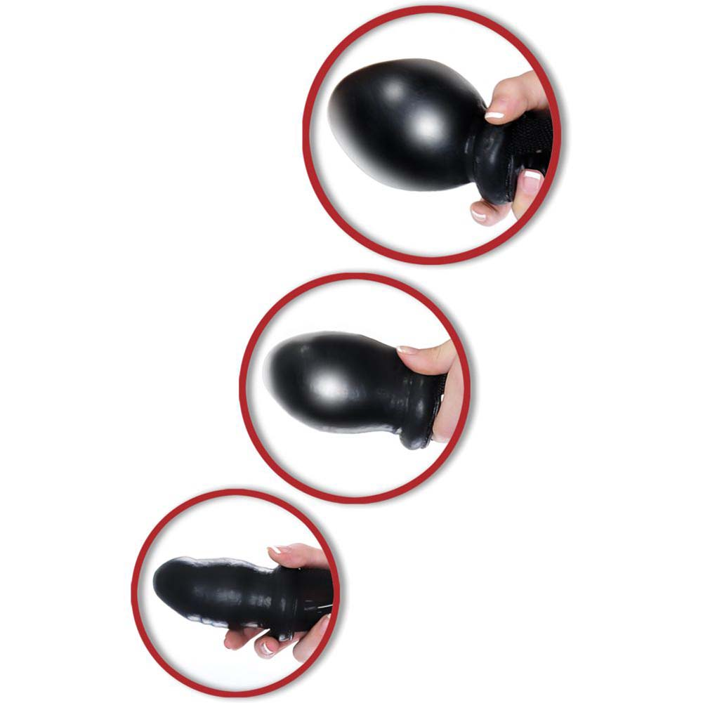 Pipedream Fetish Fantasy Series Inflatable Ball Gag Black - View #1
