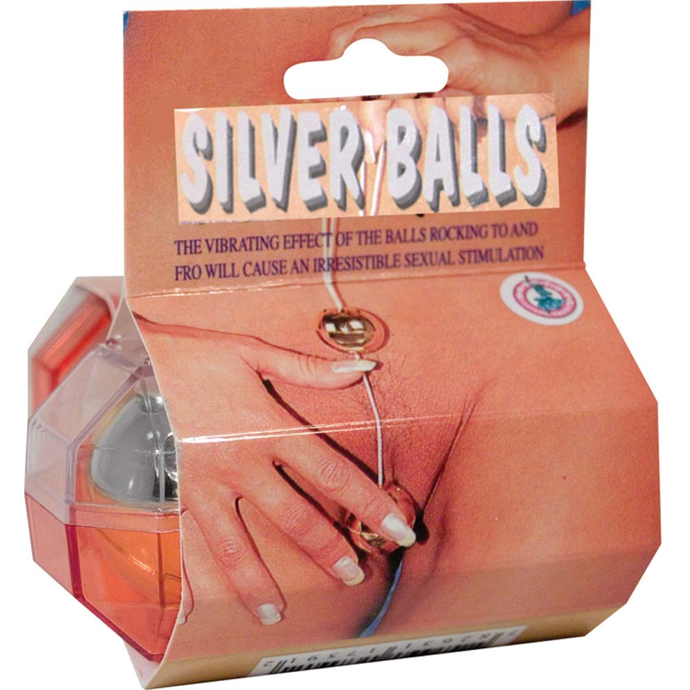 Nasstoys Large Silver Balls - View #1