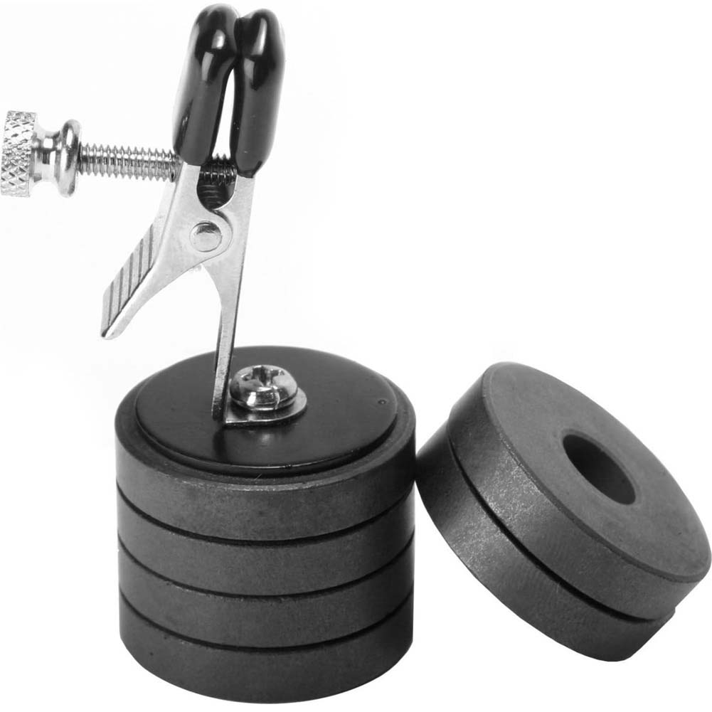 Master Series Onus Nipple Clamp with Weights - View #2