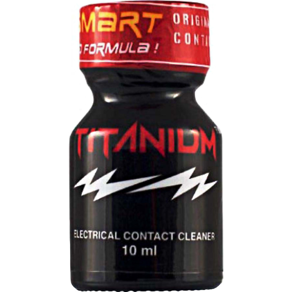 SI Novelties Titanium Electrical Contact Cleaner 10 Ml Bottle - View #1