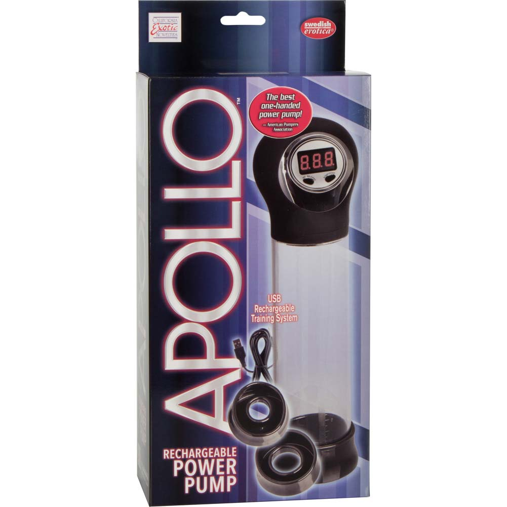 """Apollo Rechargeable Power Pump 7.5"""" by 2.25"""" Black - View #4"""