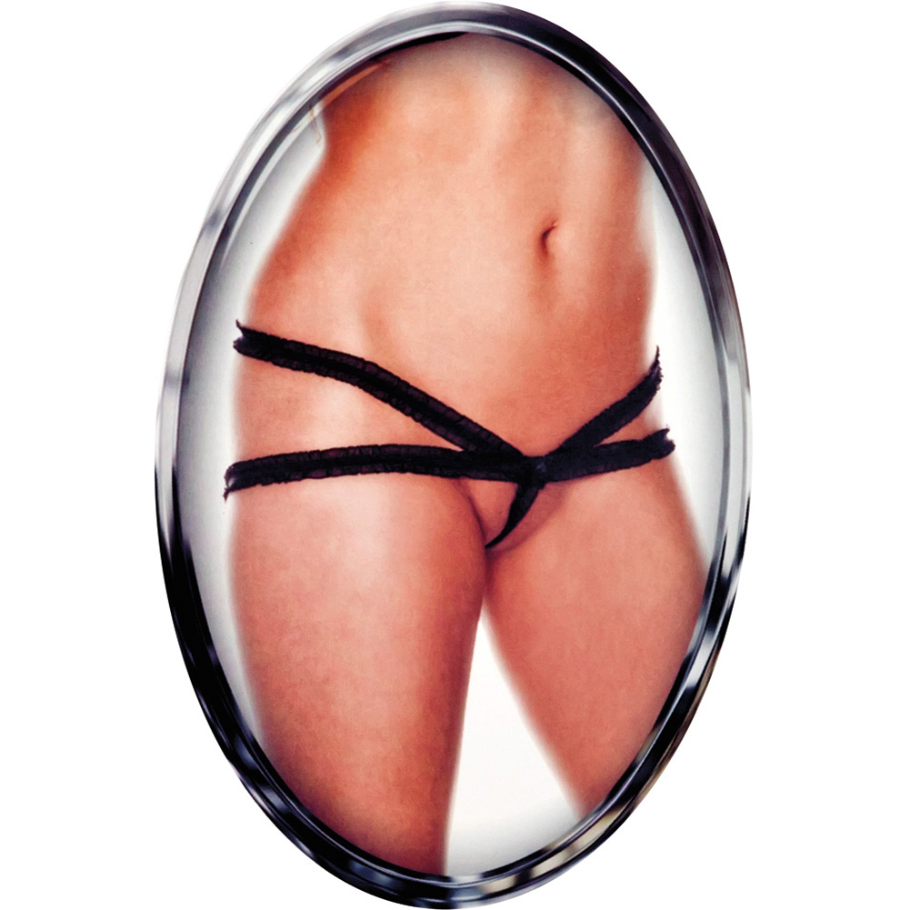 CalExotics Sexy Little Panty Collection Lingerie Medium/Large Black - View #1