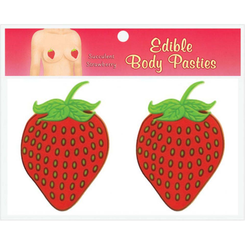 Edible Body Pasties Strawberry - View #1