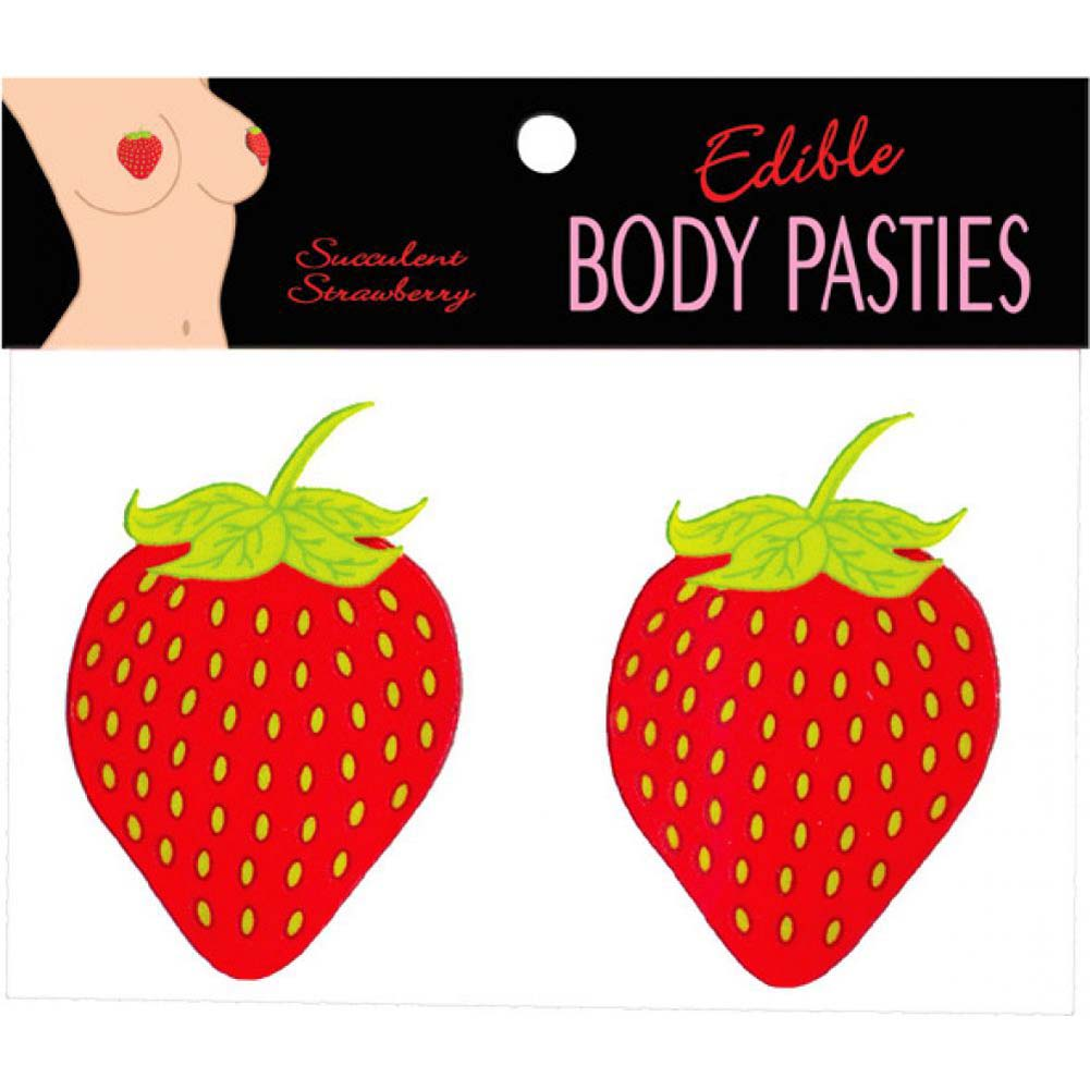 Edible Body Pasties Strawberry - View #2