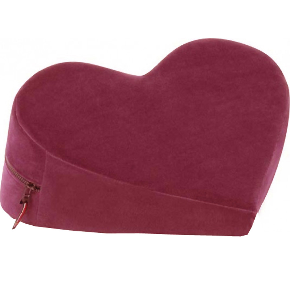 Liberator Decor Heart Wedge Merlot Velvish - View #2