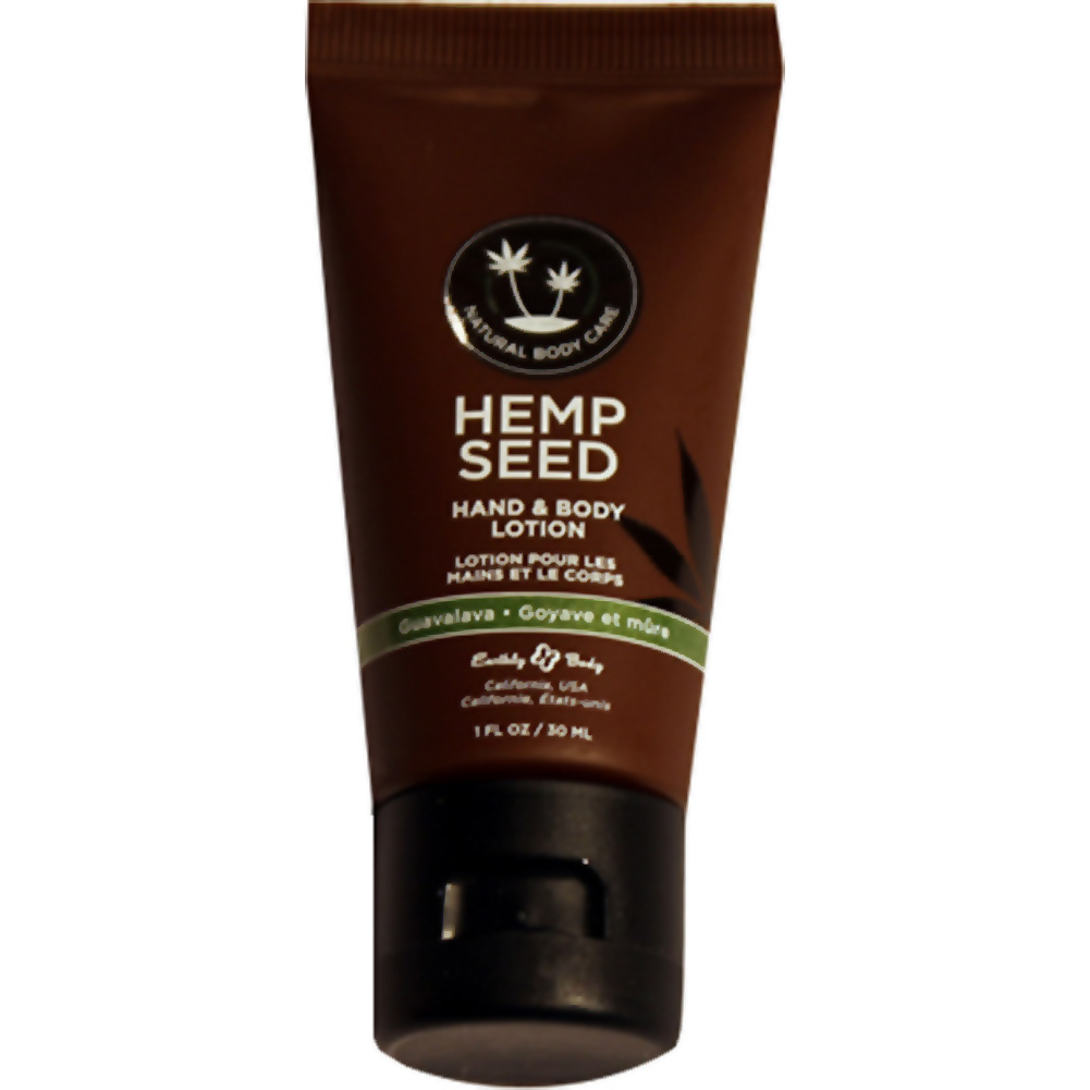 Earthly Body Hemp Seed Hand and Body Lotion 1 Fl.Oz 30 mL Guavalava - View #1