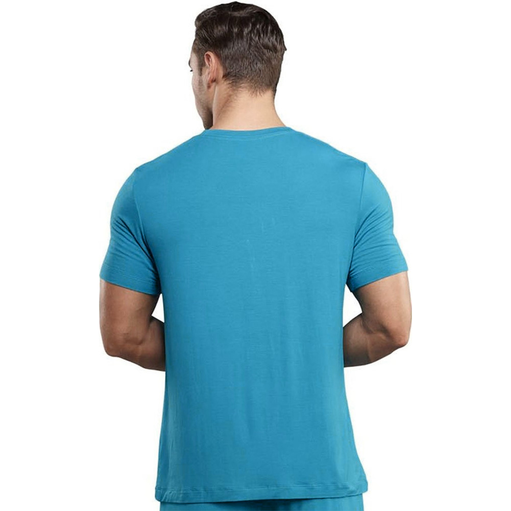Male Power Premiere Bamboo Tee Shirt Extra Large Teal - View #2